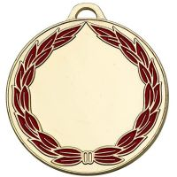 ClassicWreath50 Colour Medal-AM859G